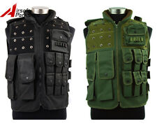 Tactical Military SWAT Police Airsoft Paintball Combat Vest w/ Magazine Pouch
