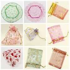 Popular Jewelry Organza Party Wedding Favour Decorations Gift Pouches Bags L