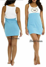 NEW Adventure Time With FINN and Jake Sleepwear Tank Dress NIGHTGOWN Costume M