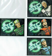 CAPTAIN SCARLET EMBOSSED CARD SINGLES