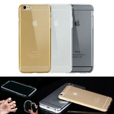 iPhone 4/4S 5/5S 6 Ultra Thin Transparent Back Hard Cases Covers Skins ifa