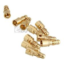 10 Pairs Bullet Banana Plug Connector Male Female for RC Toys New