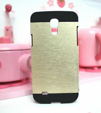Aluminum Brushed Metal Back Cover Case For Samsung Galaxy S4 Mini i9190/i9500