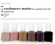 ESSIE NAIL LACQUER - CASHMERE MATTE Collection  -13.5ml /.46 oz- Pick any Color