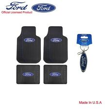 Brand New 4pcs Set Ford Car Truck SUV Front Back All Weather Rubber Floor Mats