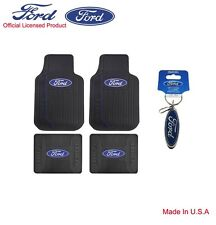 New Ford Elite Car Truck Front Back All Weather Rubber Floor Mats Made in U.S.A