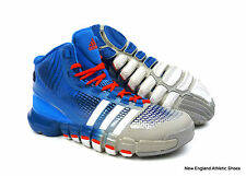 adidas adipure crazy quick basketball shoes for men - Aluminum / White / Blue