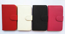 Luxury Flip Card Wallet Pouch PU Leather Case Cover FOR Samsung cell phones 2