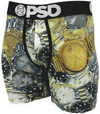 Authentic Mens PSD Boxer Briefs Folex Time Wrist Watches Gold Silver Underwear