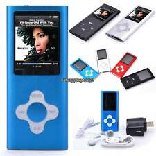 "1.8"" LCD Screen  FM Radio Video Games&Movie 16 GB Slim Mp3 Mp4 Player Multiple"