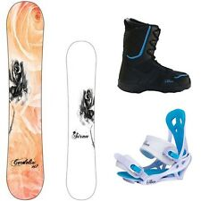 NEW Women's Siren Cordelia Snowboard Package + Theory Boots + Mystic Bindings