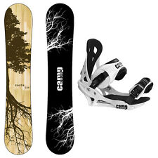 New 2015 Camp Seven Roots CRC Men's Snowboard + Summit Bindings Package