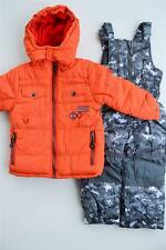 NWT Boys 2T 3T 4T Rugged Bear 2-piece Bib Snowsuit Ski $100 New