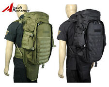 New Airsoft Tactical Military Molle Dual Rifle Gun Carrying Bag Case Backpack