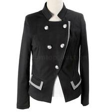 Women Blazer Jacket One Button Slim Ladies OL Casual Fashion Suit Coat Outerwear