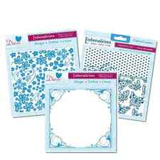 6 x 6 Diesire Embossalicious Embossing Folders by Crafters Companion Card Making