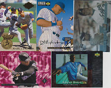 Additional 1994 Baseball Inserts From Various Sets