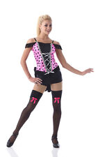 Burlesque Dance Costume Can Can Saloon Girl Halloween Child & Adult Sizes