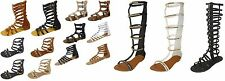 New Womens Tall Gladiator Sandals Shoes Many Styles To Choose From