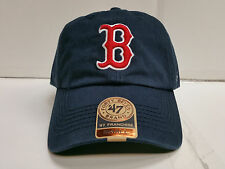 Boston Red Sox Franchise '47 Brand Fitted Cap Navy Blue Unstructured Hat