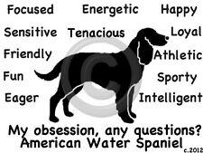 American Water Spaniel Obsession?? T-shirt Our Original Design
