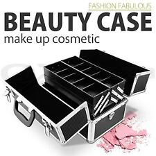 PROFESSIONAL PORTABLE TRAVEL COSMETICS BEAUTY CASE MAKEUP CARRY CASE BOX BAG