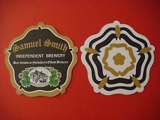 Beer Coaster ~ SAMUEL SMITH'S Independent Brewery ~ Yorkshire's Oldest ~ ENGLAND