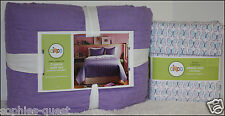Circo REVERSIBLE Purple QUILT & SHAM + BUTTERFLY Sheet Set - FULL  *NEW*