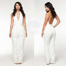 Womens Sexy Bodycon Casual Summer Clubwear Long Pants Jumpsuit Romper Playsuit