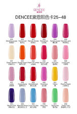 BLUESKY 2015 DC 25-48 Dencee Range 10ml UV/LED SOAK OFF GEL NAIL POLISH