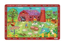 Crocodile Creek Eat Learn Seek Find Placemat - Durable, Easy to Clean,Toxic Free