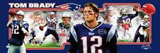 NFL Football Tom Brady Quarterback New England Patriots Photoramic #1012