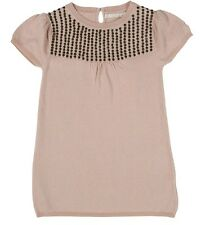 PALE CLOUD Talia Short Sleeved Dress in Dusty Pink ~ 6 Years