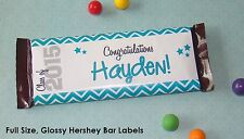 20 HERSHEY CANDY BAR WRAPPERS Graduation Glossy Labels Decoration Favor