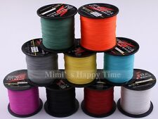 8Strands 100M 109 YARDS Colors 100% PE Dyneema Spectra Strong Braid Fishing Line