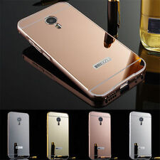 Aluminum Metal Bumper + Hard Back Cover For Samsung Galaxy S4 Case Cover i9500