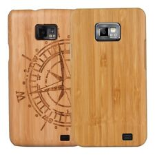 kwmobile BAMBOO COVER FOR SAMSUNG GALAXY S2 I9100 / S2 PLUS I9105 CASE WOOD