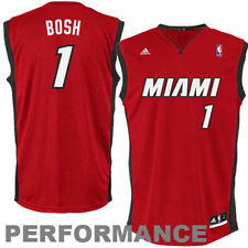 Chris Bosh Miami Heat adidas Youth Replica Alternate Jersey - Red - NBA