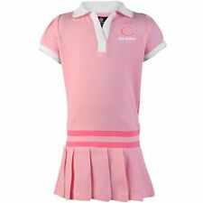 Chicago Bears Infant Girls Pleated Sundress - Pink - NFL
