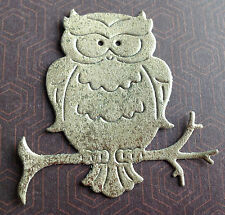 Small Owl Die Cut Shapes ideal for Cards, Toppers, Scrapbooking - Assorted Sets