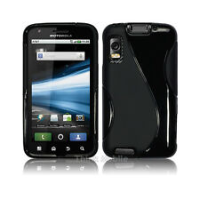 Silicone TPU Gel Bumper Case Cover Sleeve Skin For The Motorola Atrix 4G MB860