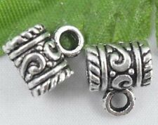 Wholesale 28/60Pcs Tibetan Silver  Spacer Beads 11x9mm(Lead-free)