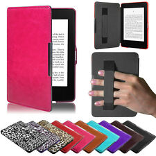 Premiu Ultra Slim Leather Smart Case coques For New Amazon Kindle Paperwhite 5