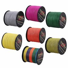 Spectra 6LB-300LB 300M/328yds 12Colors Dyneema 100%PE Spectra Braid Fishing Line