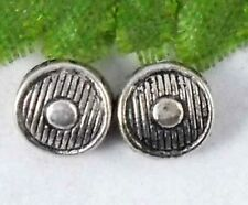 Wholesale 100/210Pcs Tibetan Silver  Spacer Beads 6x4mm(Lead-free)