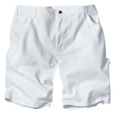 """Dickies DX400WH 10"""" Relaxed White Painters Utility Shorts"""