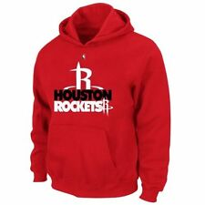 Houston Rockets Majestic Big & Tall Game Face Pullover Sweatshirt - Red - NBA