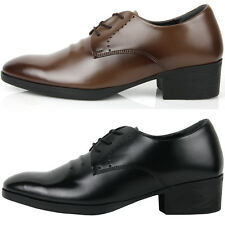 New Basic Dress Casual Lace up Derby Oxford Fomal Mens Shoes