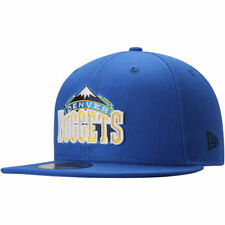 Mens Denver Nuggets New Era Blue Current Logo 59FIFTY Fitted Hat - NBA