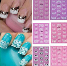 3D Transfer Lace Design Nail Art Tips Stickers DIY Manicure Decal Decoration NEW